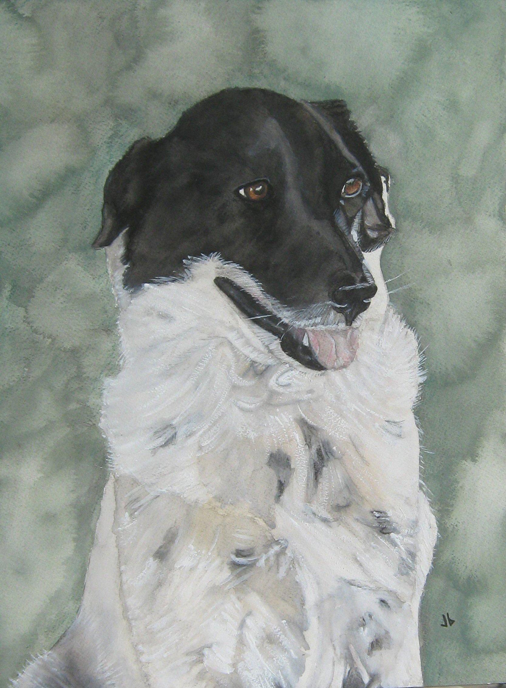 Sally painting